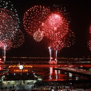 "12""Harmonious and Beautiful China"" themed fireworks show"