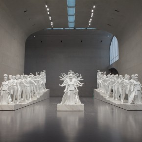 12 Xu Zhen European Thousand Hand Classical Sculpture 2014 Installation 1643x450x170cm 290x290 - Xu Zhen Solo Exhibition Unveiled at Long Museum
