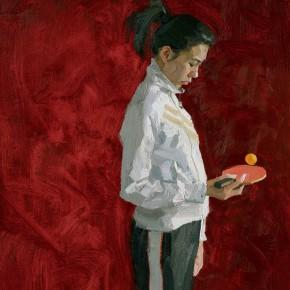 12 Yuan Yuan, Three Women, oil on canvas, 200 x 310 cm, 2012