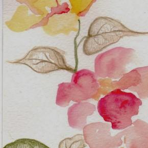 15 He Yisha, Songs of Chu Atlas Series – Hibiscus rosa-sinensis Linn