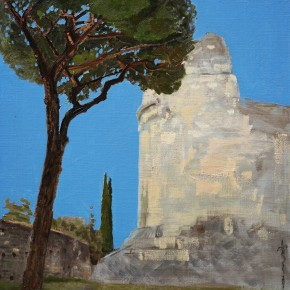 16 Liu Manwen The Ancient Appian Way oil on canvas 70 x 60 cm 2014 290x290 - Grand Tour: Italy Seen by Chinese Artists' Eyes to be Inaugurated in Museo Nazionale d'Arte Orientale
