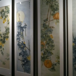 "17 Installation view of the exhibition 290x290 - ""Sweetness and Elegance"" Exhibition Opened at Yanhuang Art Museum Showcasing the Creation of the Young Women"
