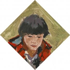 17 Yuan Yuan, The Miner No.2, oil on canvas, 116 x 70 cm, 2010