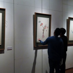 "20 Installation view of the exhibition 290x290 - ""Sweetness and Elegance"" Exhibition Opened at Yanhuang Art Museum Showcasing the Creation of the Young Women"