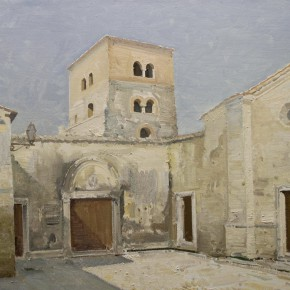 29 Yin Xiong The Farfa Monastery Midday oil on canvas 60 x 80 cm 2014 290x290 - Grand Tour: Italy Seen by Chinese Artists' Eyes to be Inaugurated in Museo Nazionale d'Arte Orientale