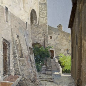 31 Yin Xiong Labro Town No.2 oil on canvas 50 x 60 cm 2014 290x290 - Grand Tour: Italy Seen by Chinese Artists' Eyes to be Inaugurated in Museo Nazionale d'Arte Orientale