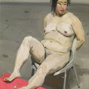 31 Yuan Yuan, Untitled, oil on canvas, 180 x 180 cm, 2009