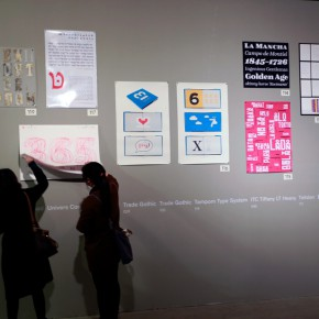 """33 Installation view of """"The Way of Type A Dialogue on Typography"""" 290x290 - """"The Way of Type: A Dialogue on Typography"""" Activity Started at CAFAM Focusing on the Beauty of Chinese and Western Types"""