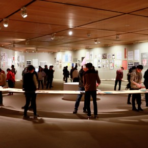 """34 Installation view of """"The Way of Type A Dialogue on Typography"""" 290x290 - """"The Way of Type: A Dialogue on Typography"""" Activity Started at CAFAM Focusing on the Beauty of Chinese and Western Types"""