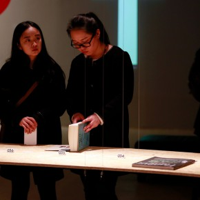 """35 Installation view of """"The Way of Type A Dialogue on Typography"""" 290x290 - """"The Way of Type: A Dialogue on Typography"""" Activity Started at CAFAM Focusing on the Beauty of Chinese and Western Types"""
