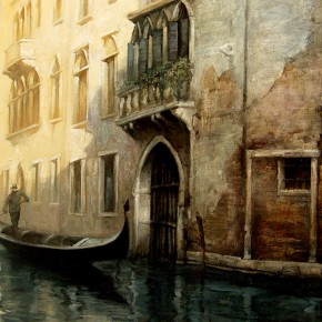 35 Zhou Zhiwei The Poetic Venice oil on canvas 60 x 90 cm 2014 290x290 - Grand Tour: Italy Seen by Chinese Artists' Eyes to be Inaugurated in Museo Nazionale d'Arte Orientale