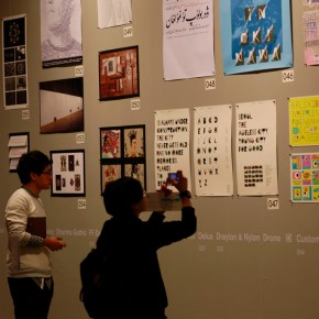 """36 Installation view of """"The Way of Type A Dialogue on Typography"""" 290x290 - """"The Way of Type: A Dialogue on Typography"""" Activity Started at CAFAM Focusing on the Beauty of Chinese and Western Types"""