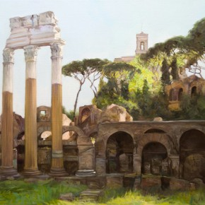 37 Zhou Zhiwei's work 290x290 - Grand Tour: Italy Seen by Chinese Artists' Eyes to be Inaugurated in Museo Nazionale d'Arte Orientale