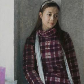 38 Yuan Yuan, Lili, oil on canvas, 30 x 20 cm, 2007