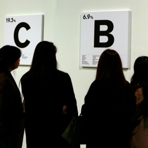 """41 Installation view of """"The Way of Type A Dialogue on Typography"""" 290x290 - """"The Way of Type: A Dialogue on Typography"""" Activity Started at CAFAM Focusing on the Beauty of Chinese and Western Types"""