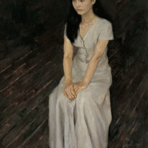"48 Yuan Yuan ""A Classmate"" oil on canvas 130 x 97 cm 19968 290x290 - Yuan Yuan"