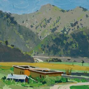64 Yuan Yuan, Xiaosumang Township Near Yushu of Qinghai Province, acrylic on canvas, 20 x 20 cm, 20122
