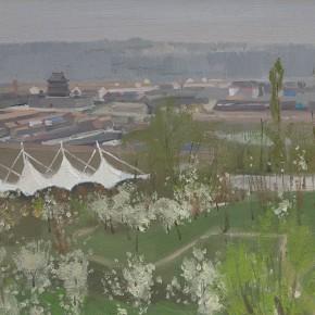 65 Yuan Yuan, Lingzhi Park, oil on canvas, 60 x 80 cm, 2010