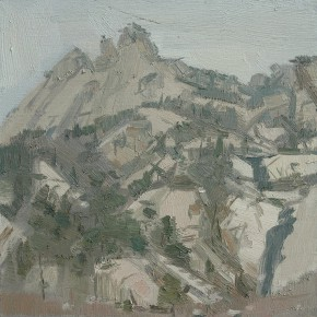 67 Yuan Yuan, In the Kunlun Mountains, oil on canvas, 2006