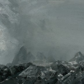 70 Yuan Yuan, The Winds and Clouds, oil on canvas, 70 x 90 cm, 2006
