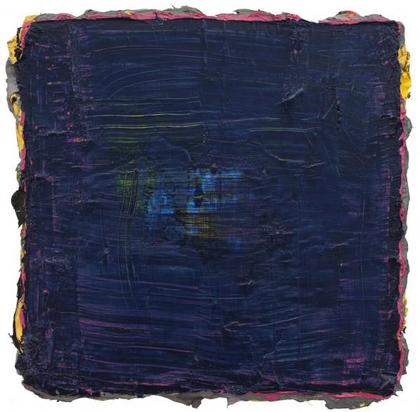 Ma Shuting, Untitled, 2013-2014; Oil on linen,  33×33cm