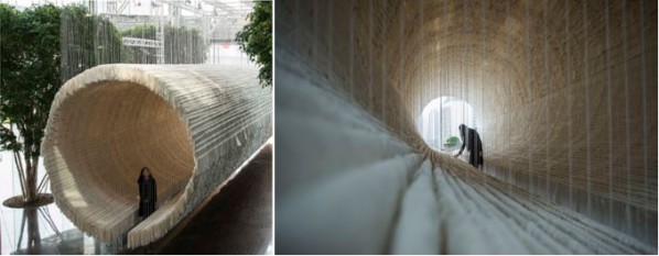 Pearl Lam Galleries Unveiled Boat  by Zhu Jinshi in Collaboration with Hong Kong Land