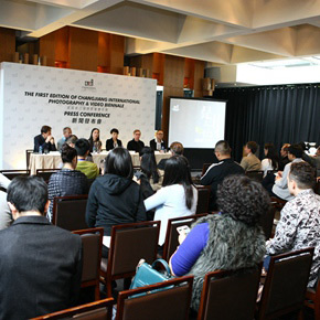 The Press conference of The First Edition of Changjiang International Photography & Video Biennale opened in Hong Kong