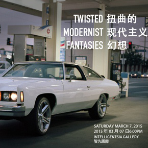 """Intelligentsia Gallery presents the group exhibition """"Twisted Modernist Fantasies"""""""