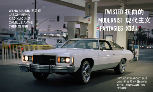 poster of twisted modernist fantasies flyer_intelligentsia