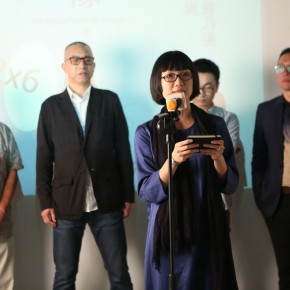 """02 Huang Lishi Director of Redtory Art and Culture Organization addressed the opening ceremony 290x290 - Multiple Possibilities of Digital Age–""""The Persistence of Images: 2×6"""" Season I Inaugurated in Guangzhou"""