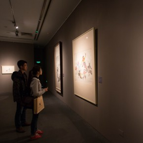 "04 Installation view of ""Ingenious and Expressive Guan Liang Painting Art Exhibition"" 290x290 - Beijing Fine Art Academy 20th Century Chinese Art Masters Series–Guan Liang Art Exhibition"