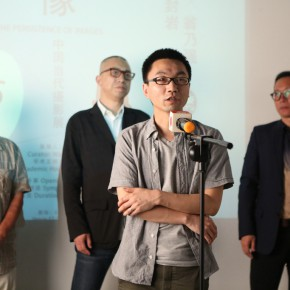 """06 Academic Host Lu Mingjun spoke at the opening ceremony 290x290 - Multiple Possibilities of Digital Age–""""The Persistence of Images: 2×6"""" Season I Inaugurated in Guangzhou"""