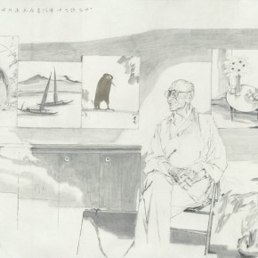 06 Ding Zhongyi Settled Down in Hong Kong 159 x 241 cm 290x290 - Fengmian's 100 Years–Lin Fengmian's Life Show Inaugurated at MCACAA