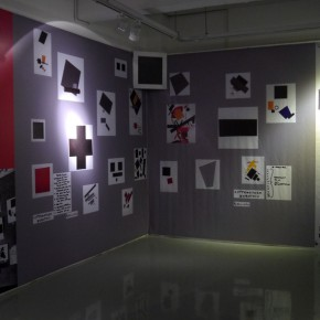 07 Reproduction of Malevich's Corner 290x290 - Malevich Documenta Opened at Sichuan Fine Arts Institute and the Most Comprehensive Art Chronology Debuted