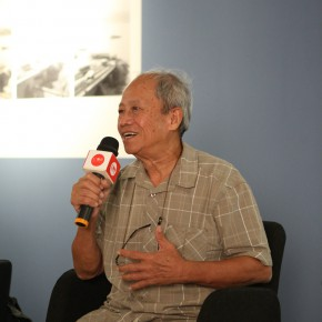 """08 Artist Weng Naiqiang spoke at the academic discussion 290x290 - Multiple Possibilities of Digital Age–""""The Persistence of Images: 2×6"""" Season I Inaugurated in Guangzhou"""