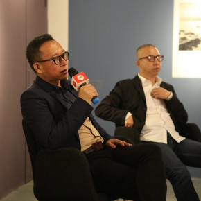 """09 Artist Ji Zhou spoke at the academic discussion 290x290 - Multiple Possibilities of Digital Age–""""The Persistence of Images: 2×6"""" Season I Inaugurated in Guangzhou"""