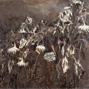 09 Kang Lei Sunflower – the Language of Wind No.2 oil on canvas 150 x 160 cm 2010 290x290 - Kang Lei