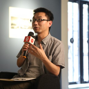 """11 Academic Host Lu Mingjun spoke at the academic discussion 290x290 - Multiple Possibilities of Digital Age–""""The Persistence of Images: 2×6"""" Season I Inaugurated in Guangzhou"""