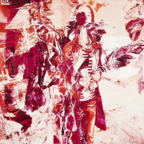 11 Kang Lei, I Can Choose Series No.2, tempera, 200 x 140 cm, 2012