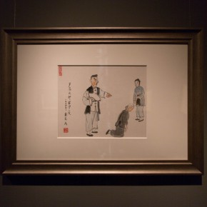 """12 Installation view of """"Ingenious and Expressive Guan Liang Painting Art Exhibition"""" 290x290 - Beijing Fine Art Academy 20th Century Chinese Art Masters Series–Guan Liang Art Exhibition"""
