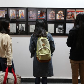 """12 Installation view of the exhibition2 290x290 - """"The Oriental Rock-Dyestuff • The Tour to Buddha's Realm"""" Indian Investigation Exhibition at CAFA"""