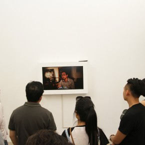 12 The audiences watched the documentary film of Li Di 290x290 - Crusader–Li Di's New Works on Paper Debuted at the White Box Art Center