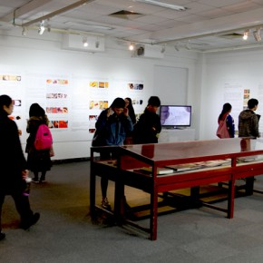 """13 Installation view of the exhibition2 290x290 - """"The Oriental Rock-Dyestuff • The Tour to Buddha's Realm"""" Indian Investigation Exhibition at CAFA"""