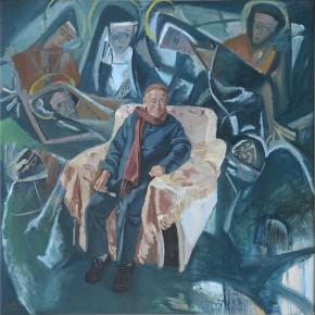 13 Jiao Xiaojian Lin Fengmian was Creating in His Later Years 290x290 - Fengmian's 100 Years–Lin Fengmian's Life Show Inaugurated at MCACAA