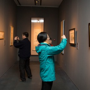 "14 Installation view of ""Ingenious and Expressive Guan Liang Painting Art Exhibition"" 290x290 - Beijing Fine Art Academy 20th Century Chinese Art Masters Series–Guan Liang Art Exhibition"