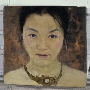 14 Kang Lei Self Portrait 2007 tempera 24 x 25 cm 2007 the cut irregular shape 290x290 - Kang Lei