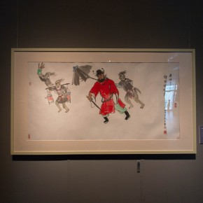 """15 Installation view of """"Ingenious and Expressive Guan Liang Painting Art Exhibition"""" 290x290 - Beijing Fine Art Academy 20th Century Chinese Art Masters Series–Guan Liang Art Exhibition"""