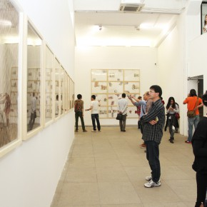 15 Installation view of the exhibition1 290x290 - Crusader–Li Di's New Works on Paper Debuted at the White Box Art Center