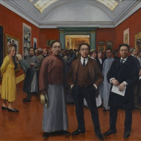 16 Lu Qi Lin Fengmian and His Friends Presented Their Work in Strasbourg 290x290 - Fengmian's 100 Years–Lin Fengmian's Life Show Inaugurated at MCACAA