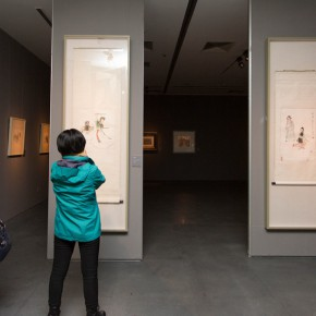 "17 Installation view of ""Ingenious and Expressive Guan Liang Painting Art Exhibition"" 290x290 - Beijing Fine Art Academy 20th Century Chinese Art Masters Series–Guan Liang Art Exhibition"